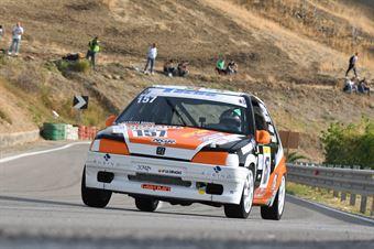 Gianluca Rodino ( New generation Racing , Peugeot 106 #157), CAMPIONATO ITALIANO VELOCITÀ MONTAGNA