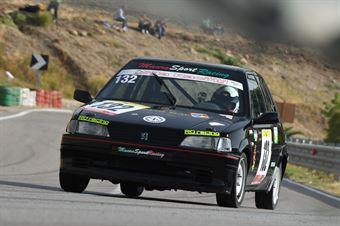 Ferrauto Fabrizio ( Ro Racing, Peugeot 106 #132), CAMPIONATO ITALIANO VELOCITÀ MONTAGNA