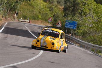 Andrea Currenti ( Catania Corse, Fiat 500 #189), CAMPIONATO ITALIANO VELOCITÀ MONTAGNA
