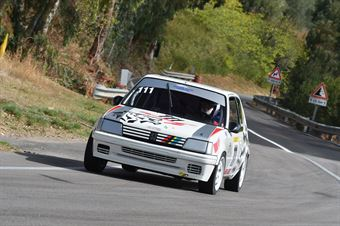 Iacona Luigi ( Motor Team Nisseno, Peugeot 205 #111), CAMPIONATO ITALIANO VELOCITÀ MONTAGNA