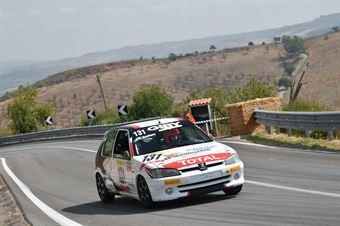 Santoro Simona Martina ( Motor Team Nisseno , Peugeot 106 #131), CAMPIONATO ITALIANO VELOCITÀ MONTAGNA