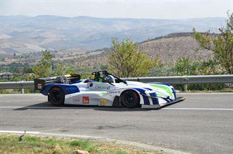 Franco Caruso ( Scuderia Vesuvio , Norma M20 FC #9), CAMPIONATO ITALIANO VELOCITÀ MONTAGNA