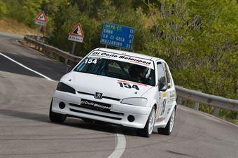 Alfio Guerrera ( Giarre Corse, Peugeot #154), CAMPIONATO ITALIANO VELOCITÀ MONTAGNA