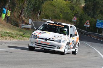 Antonio Castronovo (  Motor Team Nisseno , Peugeot 106 #129), CAMPIONATO ITALIANO VELOCITÀ MONTAGNA
