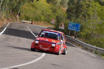 Riccardo Viaggio ( Cubeda corse, Fiat 126 #193), CAMPIONATO ITALIANO VELOCITÀ MONTAGNA