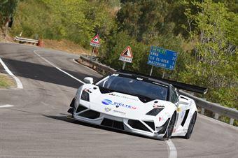 Ignazio Cannavò ( One Racing Team , Lamborghini Gallardo #38), CAMPIONATO ITALIANO VELOCITÀ MONTAGNA