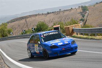 Luca Miceli ( New generation Racing, Citroen Saxo #153), CAMPIONATO ITALIANO VELOCITÀ MONTAGNA