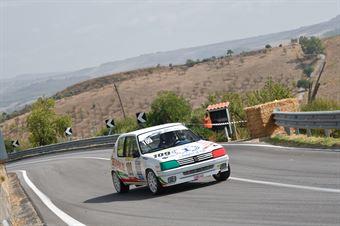 Antonio Benvenuto ( Peugeot 205 #109), CAMPIONATO ITALIANO VELOCITÀ MONTAGNA