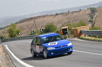 Carmelo Ferraro ( Peugeot 106 #124), CAMPIONATO ITALIANO VELOCITÀ MONTAGNA