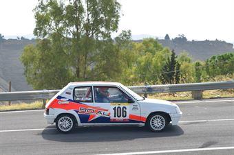 Rosario Cilia ( Fazzino Motorsport, Peugeot 205 #«06), CAMPIONATO ITALIANO VELOCITÀ MONTAGNA