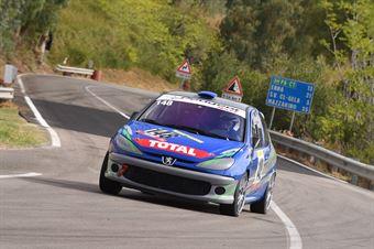 Camillo Mulè ( MOtor Team Nisseno , Peugeot 205 RC #148), CAMPIONATO ITALIANO VELOCITÀ MONTAGNA