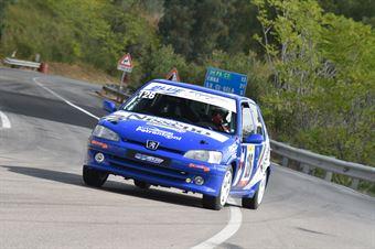 Spena Michele Maria ( Peugeot 106 #126), CAMPIONATO ITALIANO VELOCITÀ MONTAGNA