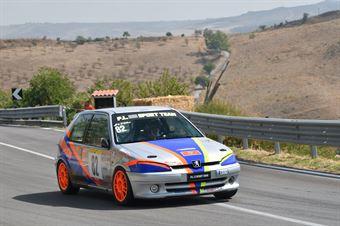 D'Avola Giovanni ( Caltanissetta Corse, Peugeot 106 #82), CAMPIONATO ITALIANO VELOCITÀ MONTAGNA