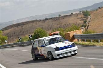 Vattiato Sebastiano ( Giarre Corse, Renault 5 GTT #45), CAMPIONATO ITALIANO VELOCITÀ MONTAGNA