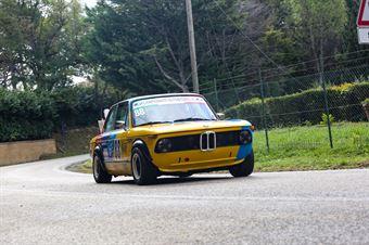 Stefano Giommi (ENRO Competition, BMW 2002 Ti, #88), CAMPIONATO ITALIANO VEL. SALITA AUTO STORICHE