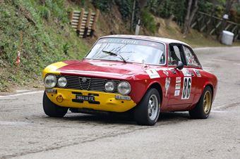 Umberto Bartolucci (Gruppo Piloti Forlivesi, Alfa Romeo GTV, #86), CAMPIONATO ITALIANO VEL. SALITA AUTO STORICHE