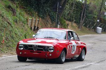 Enrico Zucchetti (Piloti Senesi, Alfa Romeo Gtam, #84), CAMPIONATO ITALIANO VEL. SALITA AUTO STORICHE