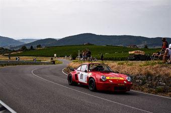 Natale Mannino (Porsche RS, Ro Racing, #81), CAMPIONATO ITALIANO VEL. SALITA AUTO STORICHE