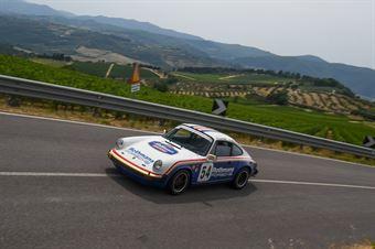 Scorretti Paolo ( Porsche 911 SC , Scuderia Biondetti #54), CAMPIONATO ITALIANO VEL. SALITA AUTO STORICHE