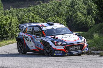 Corrado Fontana Nicola Arena, Hyundai New i20 WRC #5, CAMPIONATO ITALIANO WRC