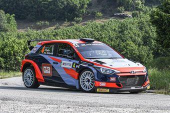 Pedro Emanuele Baldaccini, Hyundai i20 R5 #4, CAMPIONATO ITALIANO WRC