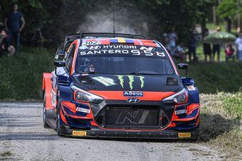 Oliver Solberg Aaron Johnston, Hyundai i20 Coupe WRC #302, CAMPIONATO ITALIANO WRC