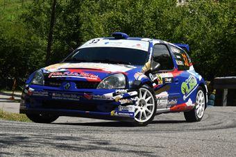 Francesco Aragno Andrea Segir, Renault Clio S1600 #32, CAMPIONATO ITALIANO WRC