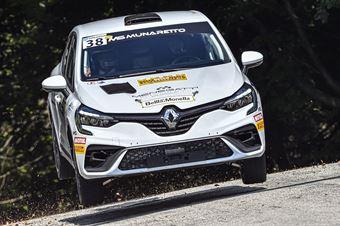 Bostjan Avbelj Damijan Andrejka, Renault Clio Rally4 #38, CAMPIONATO ITALIANO WRC
