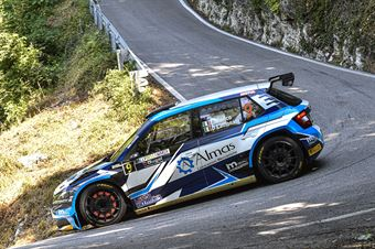 Efrem Bianco Dino Lamonato, Skoda Fabia R5 #9, CAMPIONATO ITALIANO WRC