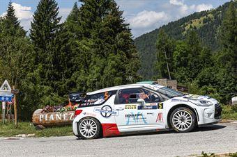 Matteo Dapra Fabio Andrian, Citroen DS3 WRC #5, CAMPIONATO ITALIANO WRC