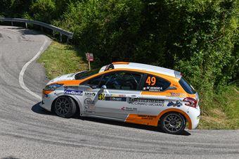 Giovanni De Menego Christian Camazzola, Peugeot 208 R2B #49, Rally Team, CAMPIONATO ITALIANO WRC