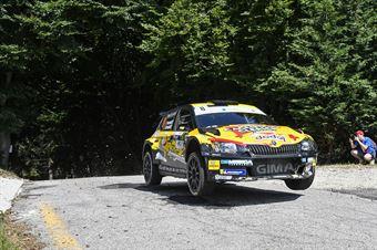 Ivan Ferrarotti Fabio Grimaldi, Skoda Fabia R5 #8, Movisport, CAMPIONATO ITALIANO WRC