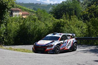 Corrado Fontana Nicola Arena, Hyundai i20 WRC #2, Bluthunder, CAMPIONATO ITALIANO WRC