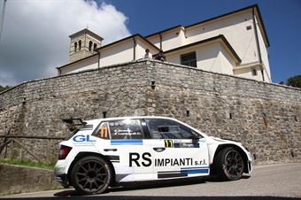 Lorenzo Grani Chiara Lombardi, Skoda Fabia R5 #11, Pintarally, CAMPIONATO ITALIANO WRC