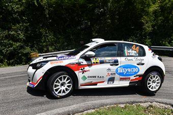 Manuel Mettifogo Barbara Piera Milesi, Peugeot 208 GT #44, CAMPIONATO ITALIANO WRC