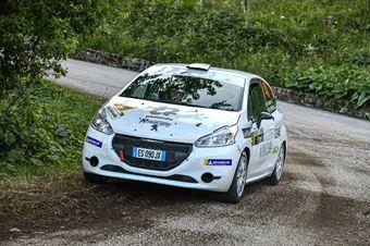 Corrado Peloso Iuri De Felice, Peugeot 208 #48, CAMPIONATO ITALIANO WRC