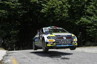 Marco Signor Patick Bernardi; Volkswagen Polo R5 #3; Sama Racing, CAMPIONATO ITALIANO WRC