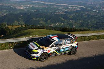 Marco Signor Patick Bernardi, Volkswagen Polo R5 #3, Sama Racing, CAMPIONATO ITALIANO WRC