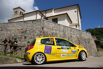 Ivan Stival Roberto Pais De Libera, Renault Clio RS #59, CAMPIONATO ITALIANO WRC