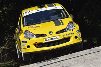 Ivan Stival Roberto Pais De Libera; Renault Clio RS #59, CAMPIONATO ITALIANO WRC
