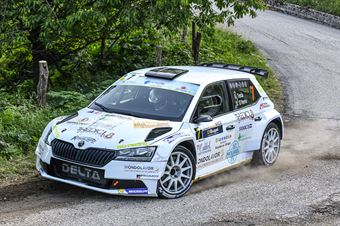 Giuseppe Testa Diego D Herin, Skoda Fabia R5 #7, CAMPIONATO ITALIANO WRC