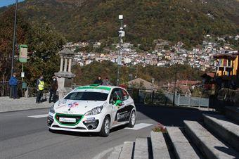 ANCILLOTTI LORENZO ANCILLOTTI COSIMO, PEUGEOT 208 R2B #44 , CAMPIONATO ITALIANO WRC