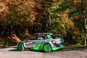 ARZA CLAUDIO CASTIGLIONI DAVID, SKODA FABIA R5 #11, CAMPIONATO ITALIANO WRC