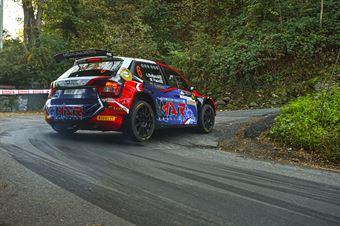 Luca Bottarelli Walter Pasini, Skoda Fabia R5 #6, CAMPIONATO ITALIANO WRC