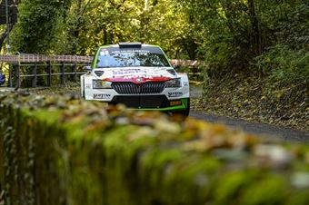 Andrea Carella Elia De Guio, Skoda Fabia R5 #1, CAMPIONATO ITALIANO WRC
