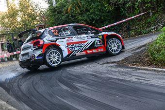 FERRAROTTI IVAN BIZZOCCHI MASSIMO, CITROEN C3 R5 #12, CAMPIONATO ITALIANO WRC