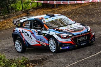Corrado Fontana Nicola Arena, Hyundai i20 WRC #4, CAMPIONATO ITALIANO WRC