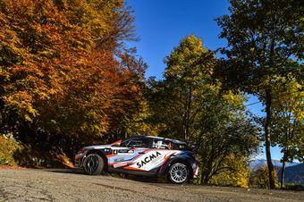FONTANA CORRADO ARENA NICOLA, HYUNDAI NEW I20 WRC #4, CAMPIONATO ITALIANO WRC