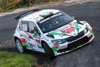 GALLENI GIOVANNI AMBROGI LUCA, SKODA FABIA R5 #21, CAMPIONATO ITALIANO WRC