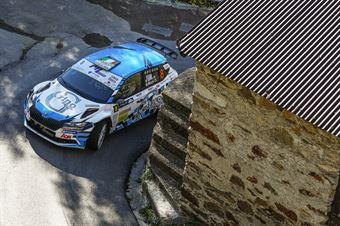 GINO ALESSANDRO MICHI DANIELE, SKODA FABIA R5 #8, CAMPIONATO ITALIANO WRC